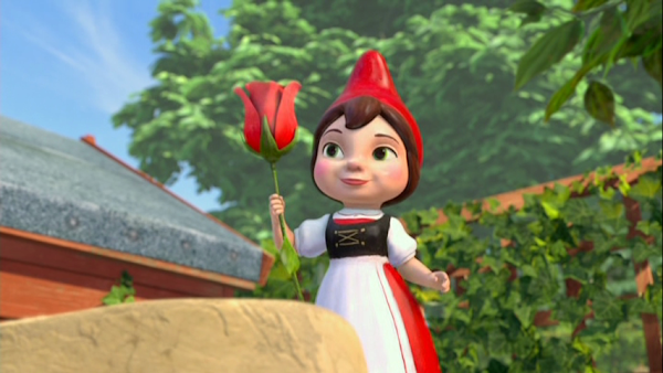Gnomeo Juliet DVDR Menu Full 2011 Español Latino