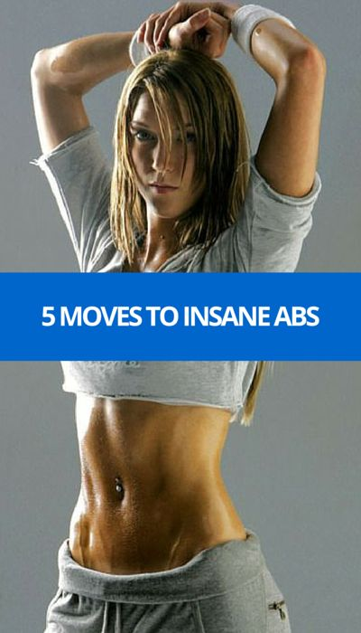 5 Moves To Rock Hard Abs