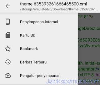 Cara mudah edit template blog menggunakan hp android