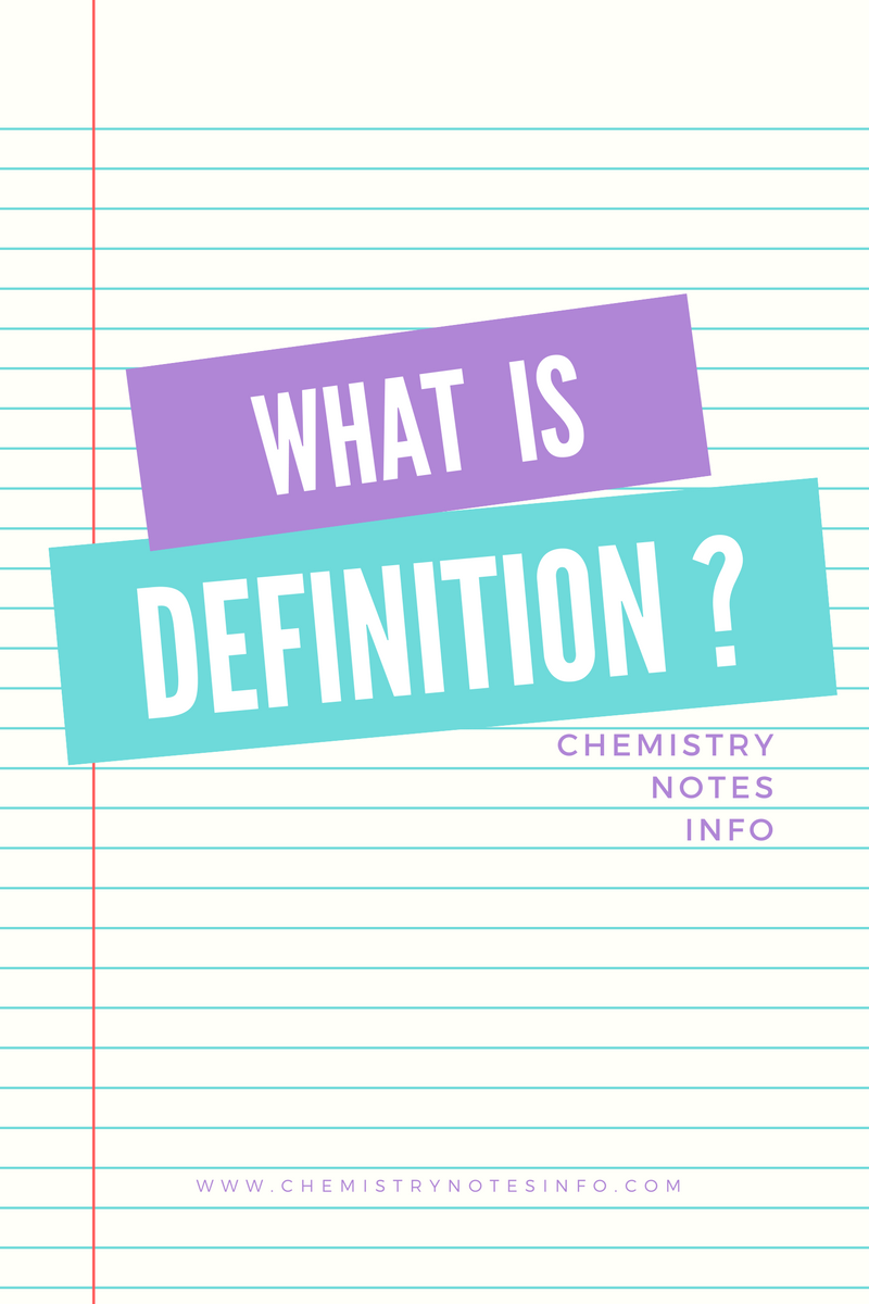 what is definition