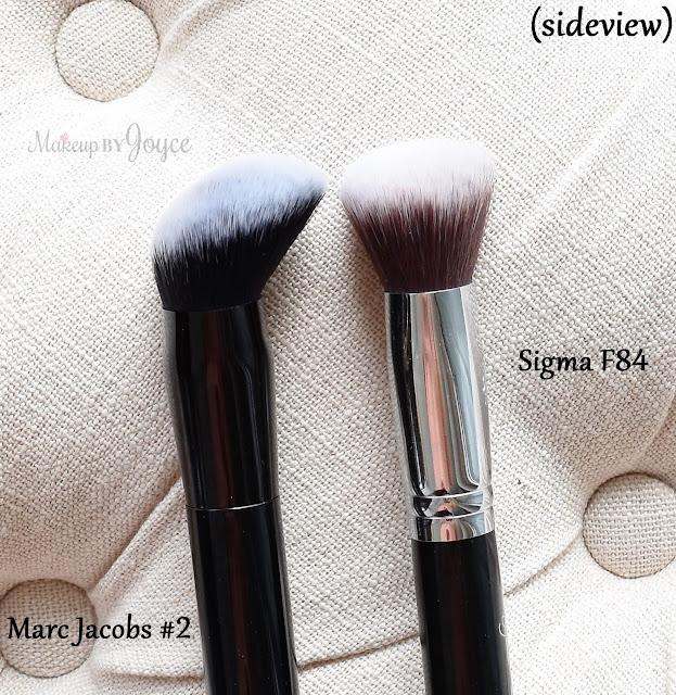 Sigma Angled Kabuki Brush F84 Brush Review