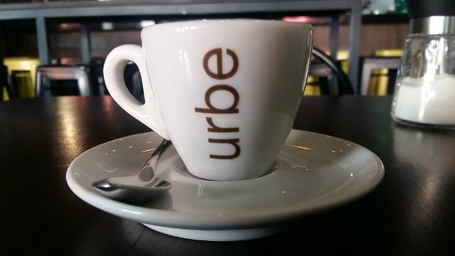 Espresso da Cafeteria Urbe Café em São Paulo