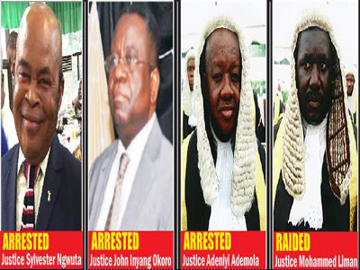 DSS DARES JUDICIARY - RECOVERS N93.5M, $530,087 FROM THREE JUDGES, WE SHALL SEE IN COURT TOMORROW