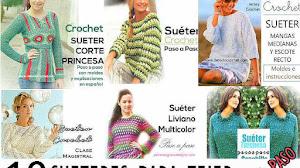 10 Suéters para tejer al crochet y con dos agujas / Paso a paso