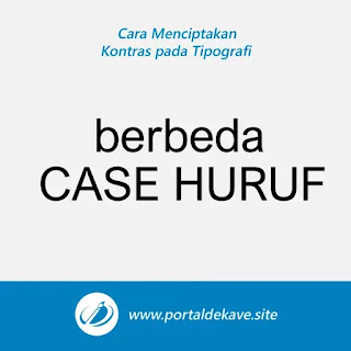 6. Membedakan Bentuk Huruf (Case)