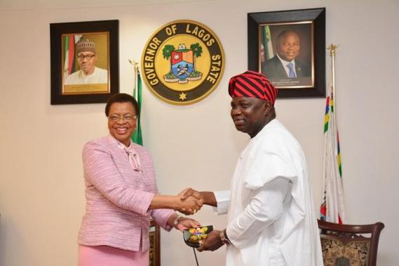 graca machel in Nigeria