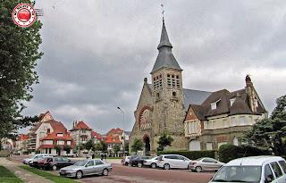 Paseo en segway en Le Touquet - iglesia