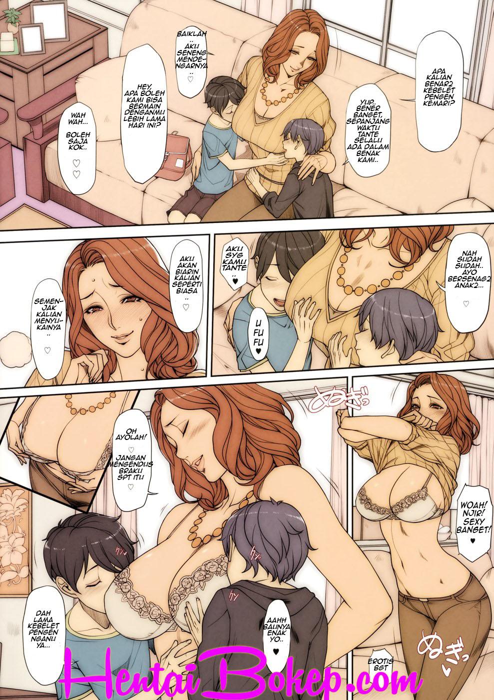 Komik Manga Hentai Tante Lagi Ketagihan Ngentot