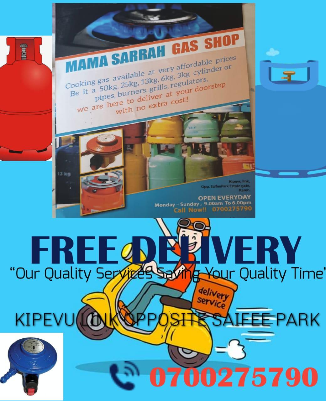 Nairobimail Cooking Gas At Your Doorstep