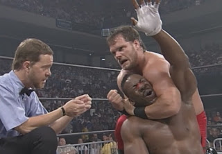 WCW Great American Bash 1998 Review - Chris Benoit and Booker T - Best of Seven Series Final