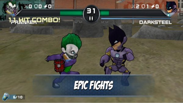 Superheros 3 Fighting Games Apk pro