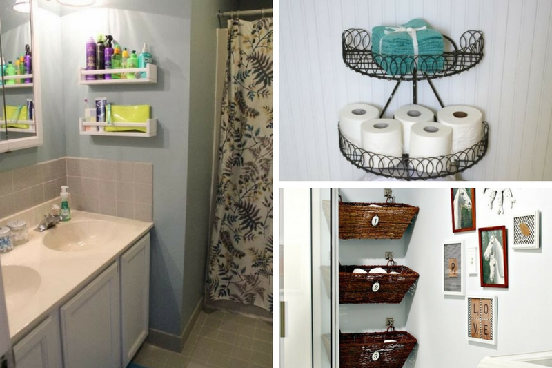 8 best diy small bathroom storage ideas that will blow you for Bathroom photos for small bathrooms