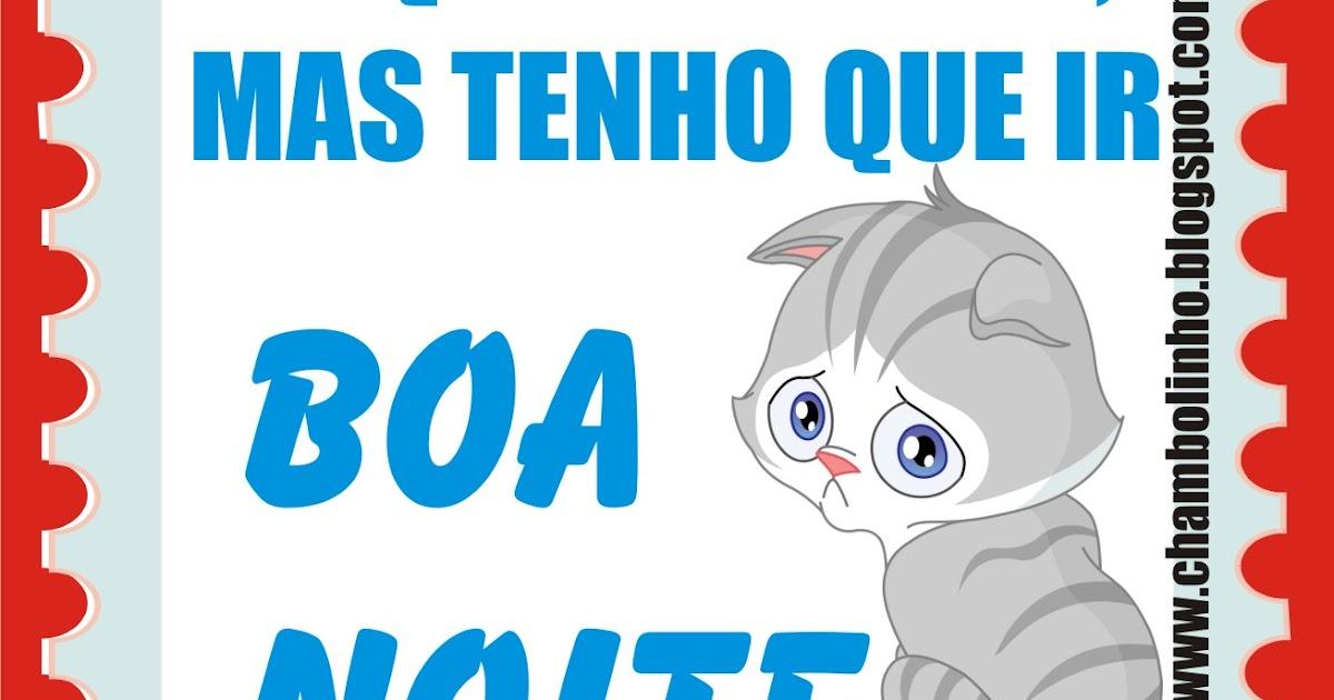 Chambolinho Recadinho De Boa Noite Pra Facebook: SELINHO Boa Noite Pra Facebook