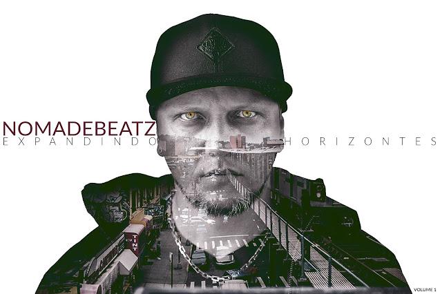 """Nomadebeatz lança o álbum """"Expandindo Horizontes vol.1"""", com a participação de 26 artistas."""