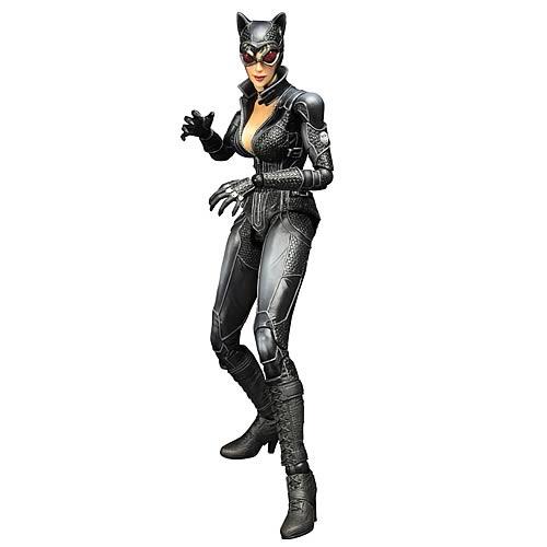 Play Arts Kai Action Figure Square Enix BATMAN Arkham City Catwoman