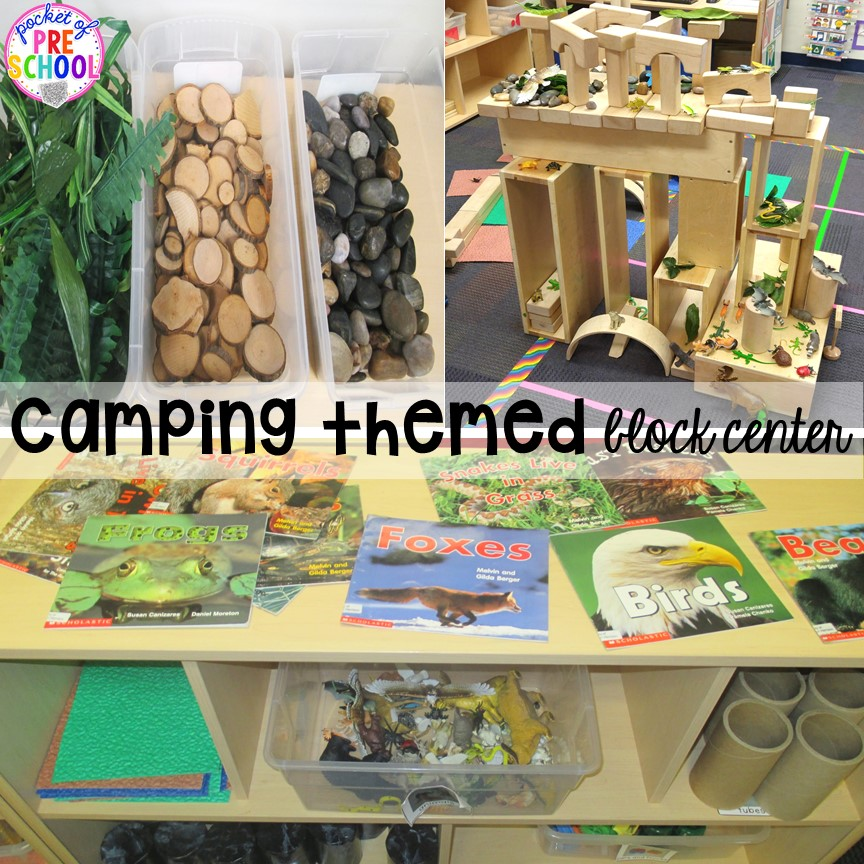 Camping Centers and Activities - Pocket of Preschool - letter of recognition