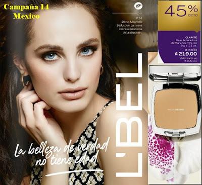 Campaña 14 LBel Mexico