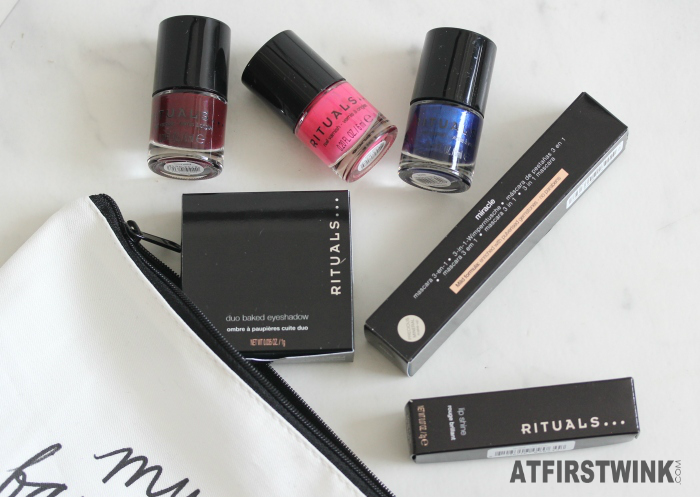 Cosmopolitan magazine subscription surprise beauty box: Rituals makeup