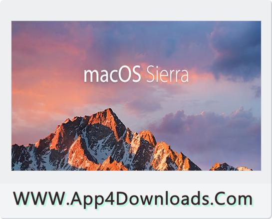 MacOS Sierra 10.12.1 Download For Windows