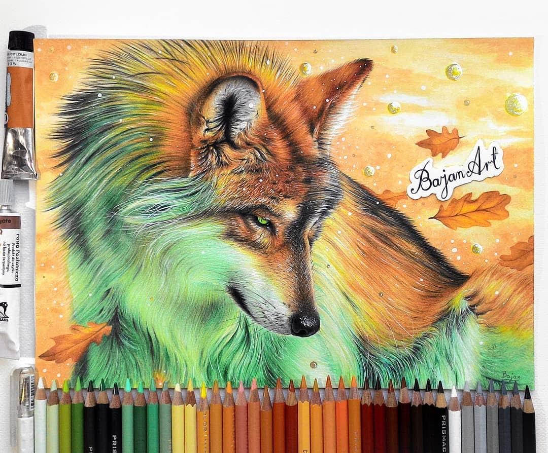 04-Wolf-Łukasz-Andrzejczak-Fantasy-Art-and-Animals-www-designstack-co