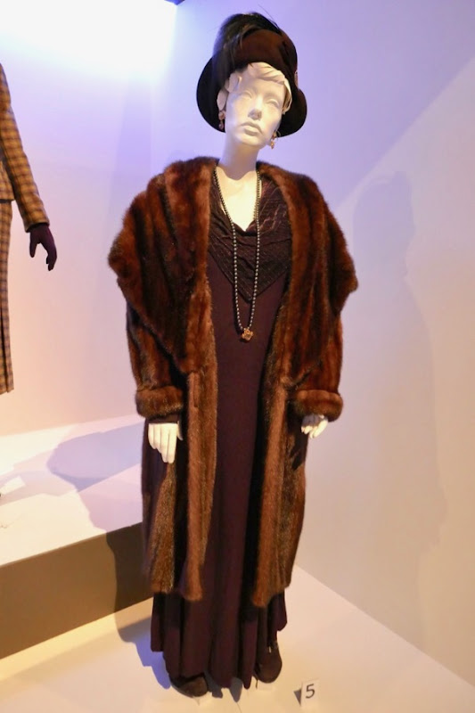 Judi Dench Murder on Orient Express Princess Dragomiroff costume