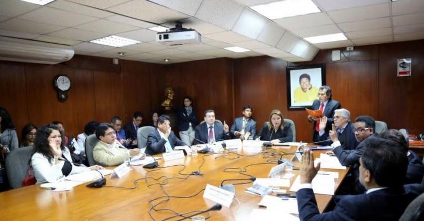 Congreso declara procedente denuncia constitucional contra Chávarry, Rodríguez, Hinostroza y CNM