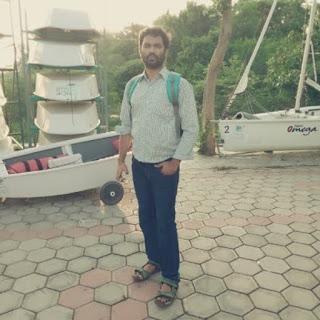 Kayaking at hussain sagar