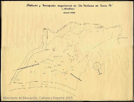 plano de Los Millares