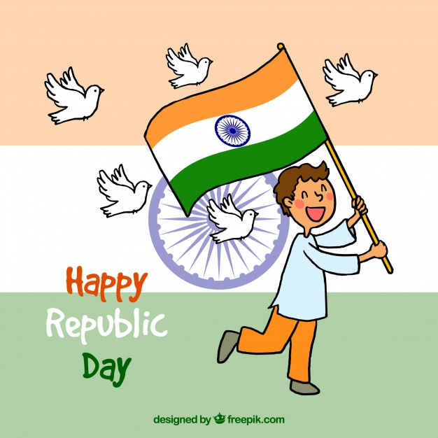 Republic Day Cartoon Pictures