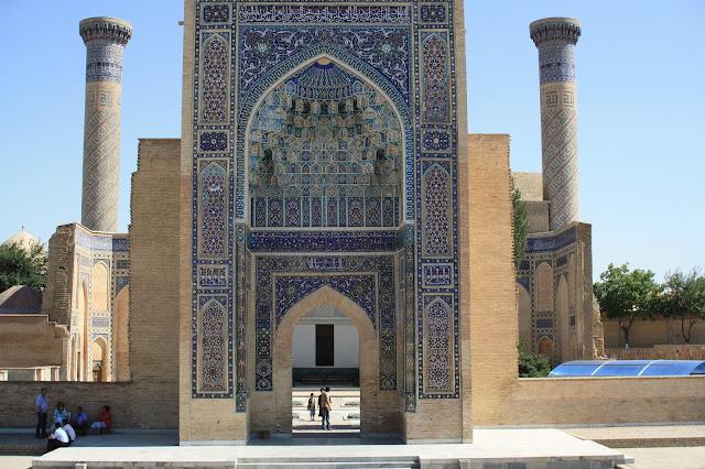 Ouzbékistan, Samarcande, Mausolée de Gour Emir, © L. Gigout, 2010