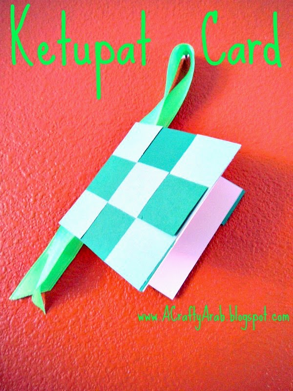A Crafty Arab Ketupat Card Tutorial