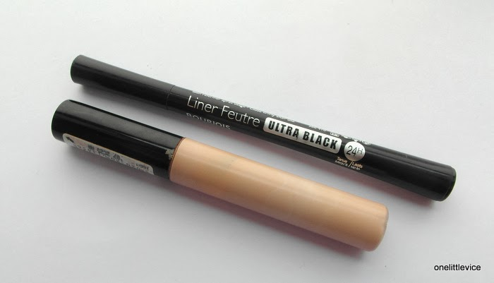 collection concealer bourjoir liner feutre ultra black eyeliner