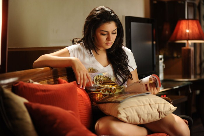 Hansika Motwani Ram In Kandireega Telugu Movie Stills