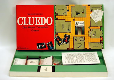 Cluedo 'The Great Detective Game', John Waddington Ltd., c.1965