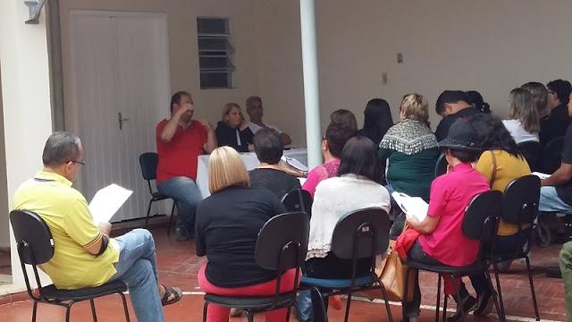 APEOESP – Subsede do Vale do Ribeira realiza reunião com Representantes de Escola