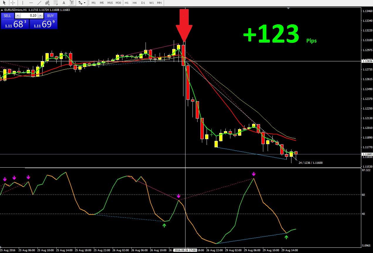 1 hour forex indicator