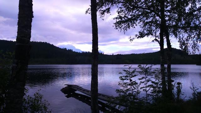Silverleden Wanderweg Rundwanderung Schweden Urlaub Camping mit Hund