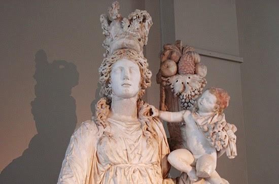 Il Matrimonio Romano Versione Latino : Culto di fortuna tiche romanoimpero.com