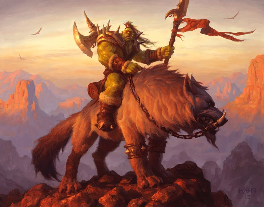 CROSS PLANES: Savage Worlds: Orc Race for World of Warcraft