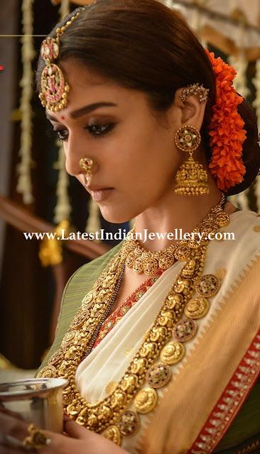 Nayana Tara in Mangatrai Jewellery