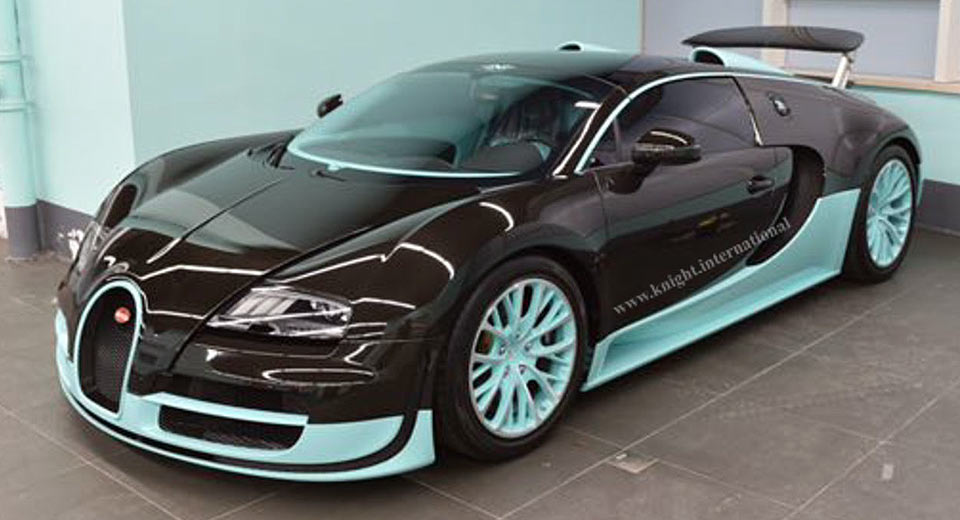 this one of a kind bugatti veyron tiffany edition has never been driven. Black Bedroom Furniture Sets. Home Design Ideas