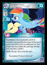 My Little Pony Rainbow Dash, Loyal Seapony Seaquestria and Beyond CCG Card