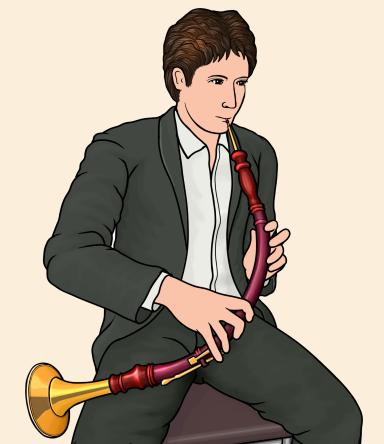 oboe da caccia オーボエ・ダ・カッチャ ヨーロッパの古楽器