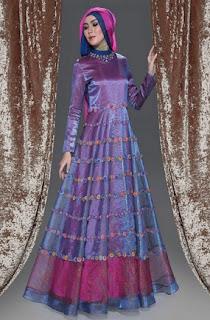 Model Baju Wanita Muslim Glamor Dan Mewah Desain Terbaru