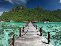 Bohey Dulang Island, Which is Quite Interesting to Visit, Malaysia