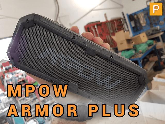 Mpow Armor Plus: musica sotto la pioggia!