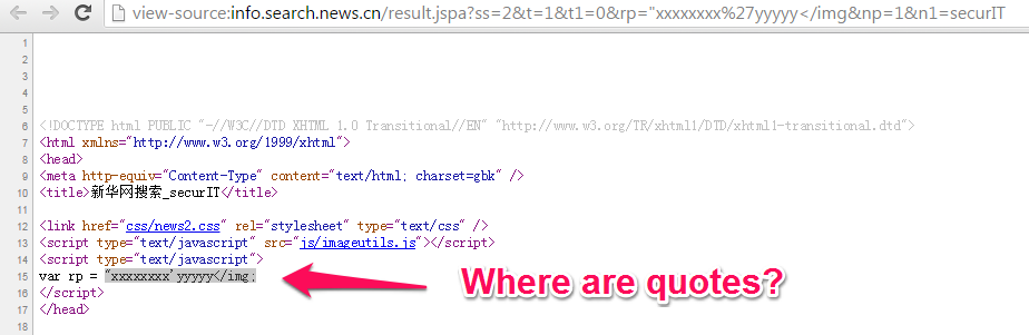 Respect XSS: No Quotes At All