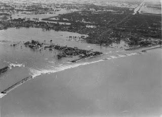 Fotografía inundación de China en 1931