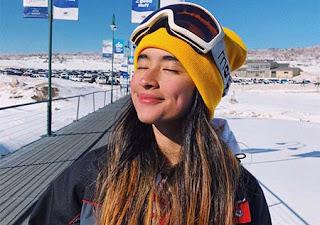 Nadia Raisya di Luar Negeri