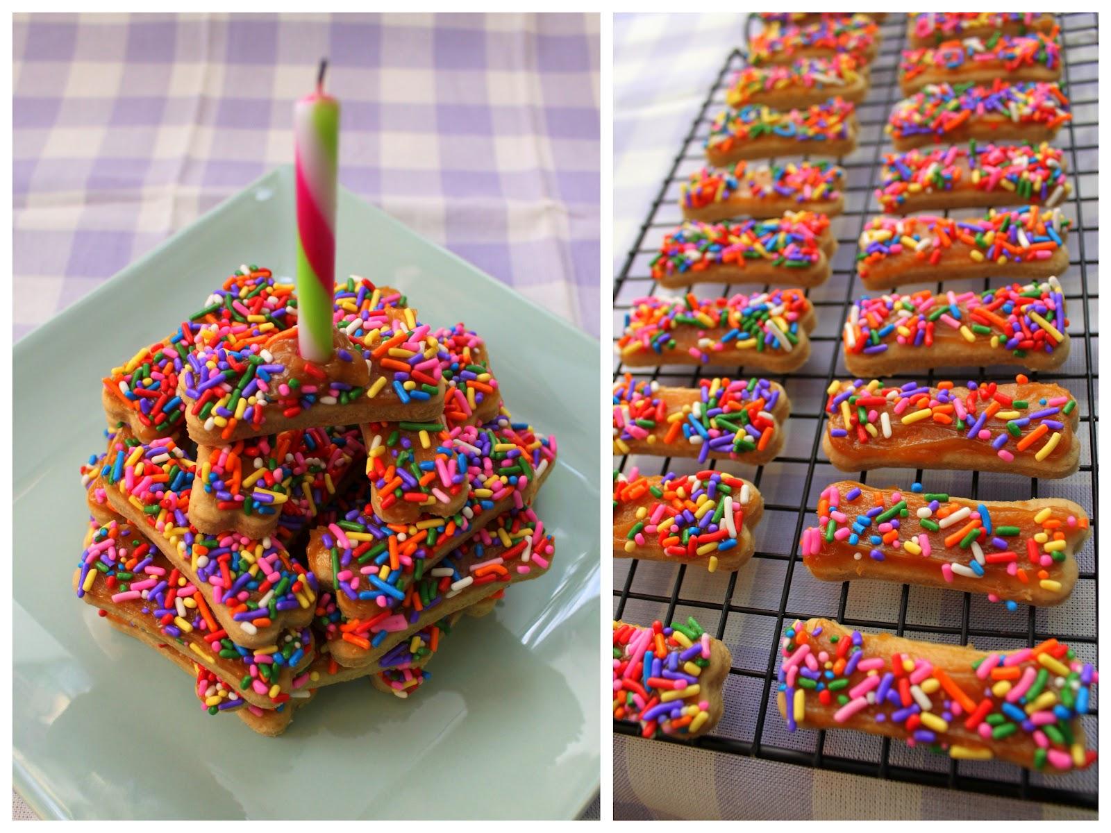 Doo Dah Peanut Butter Cookies For Puppy Happy Birthday